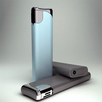 modeled lighter 3d model