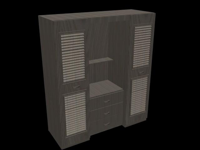 3ds max closet