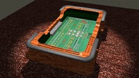 3d craps dice casino