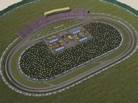 maya kansas speedway track race