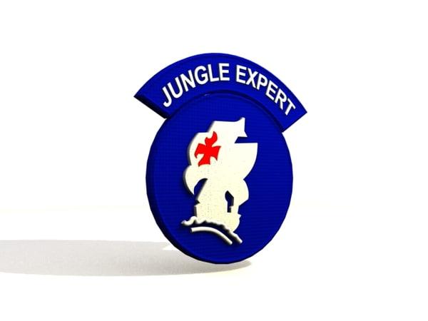 3d jungle expert model