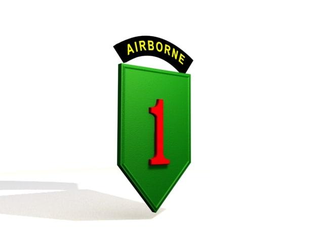 1st infantry division 3ds