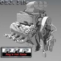 roy motor 3d model