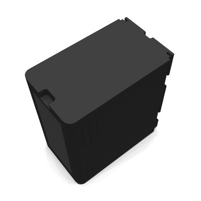 free panasonic battery 3d model