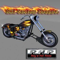 lightwave roy custom chopper rhr