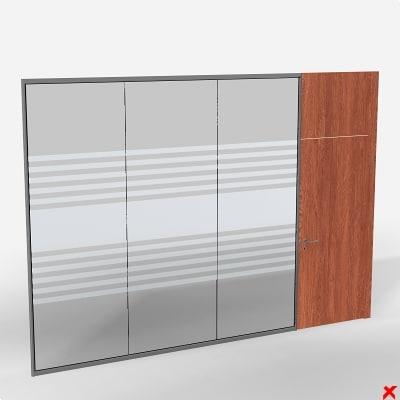glass door 3d model