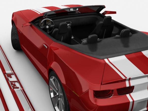 camaro convertible concept max