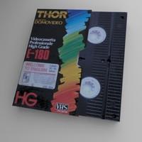 VHS+case