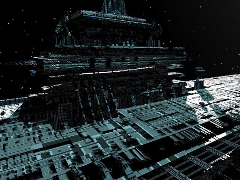 element ship 3d model