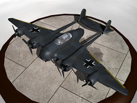 german bomber 3d ma