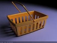 3dsmax plastic basket