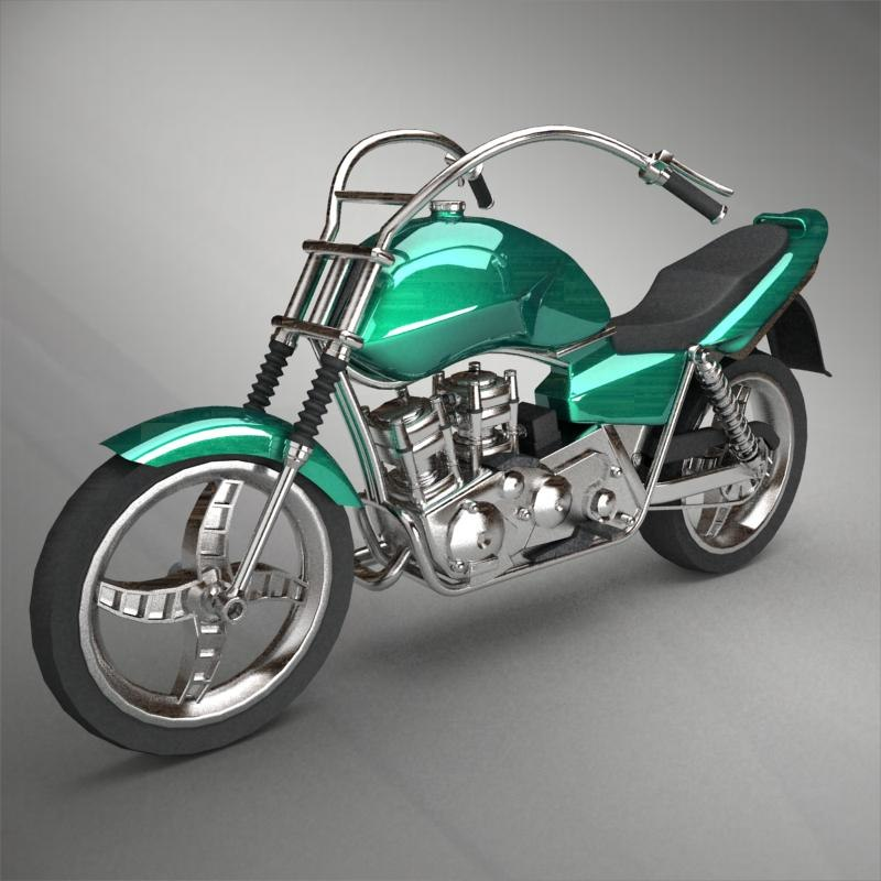 motorcycle 3d 3ds