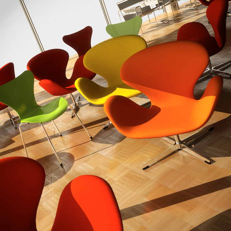 design furniture le corbusier 3d model