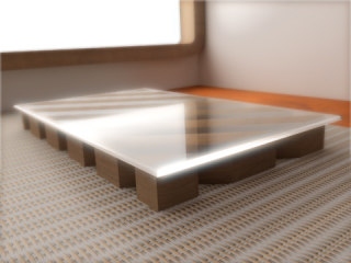 3d model table basse