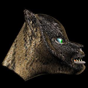 werewolf beast 3d model