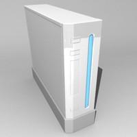 wii 3d model