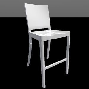 hudson counter stool 3d 3ds