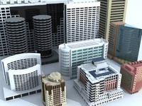 3ds max commercial buildings