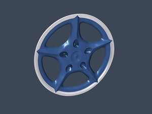 3ds max vehicle rim