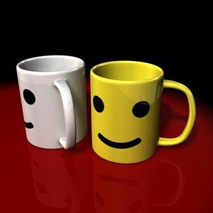3dsmax breakfast mug