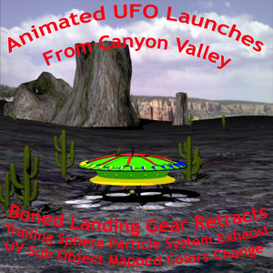 3dsmax ufo animation