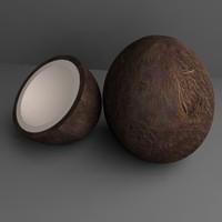 dxf coco nut half