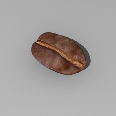 coffee bean dxf