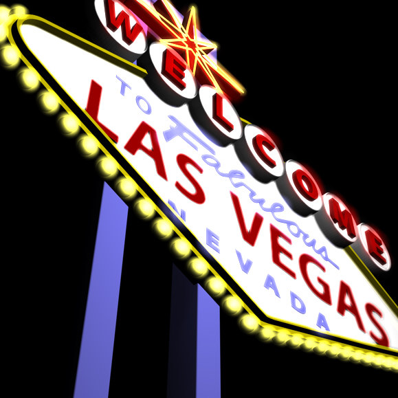 cinema4d las vegas neon sign