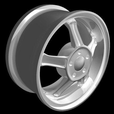 alloy wheel 3d ma
