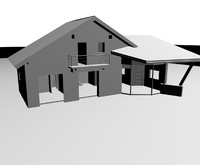 house building 3d max