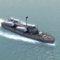 3d chinese navy huangfeng fac model