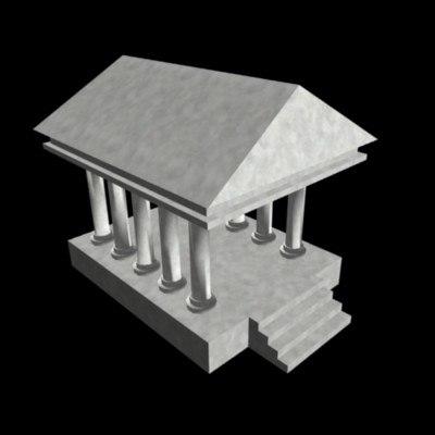 3ds mode roman building