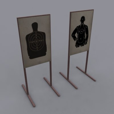 3dsmax silhouette targets