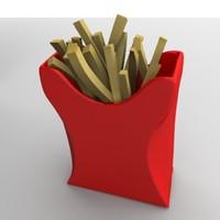 pomes frites 3d 3ds