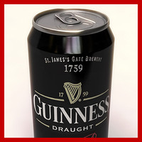 Guinness Beer Can - 50cl