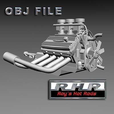 free obj model nostalgia motor