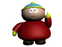 3ds max eric cartman