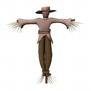 lightwave scarecrow scare