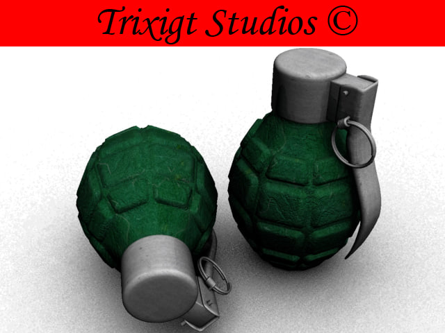 free 3ds model grenade