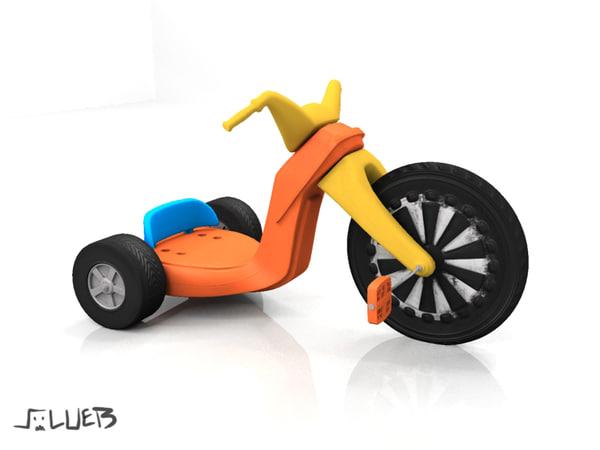 3d model of maps wheel