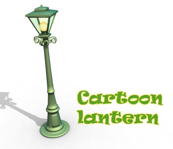 cartoon street light max