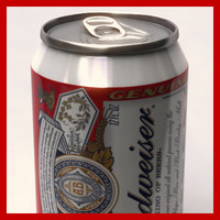 Budweiser Beer Can - 33cl