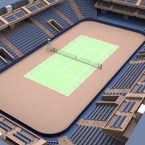 3d tennis arena