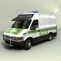 german police van 3ds