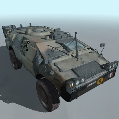 cinema4d military amphibious vehicle