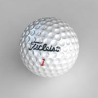 3dsmax golfball golf ball