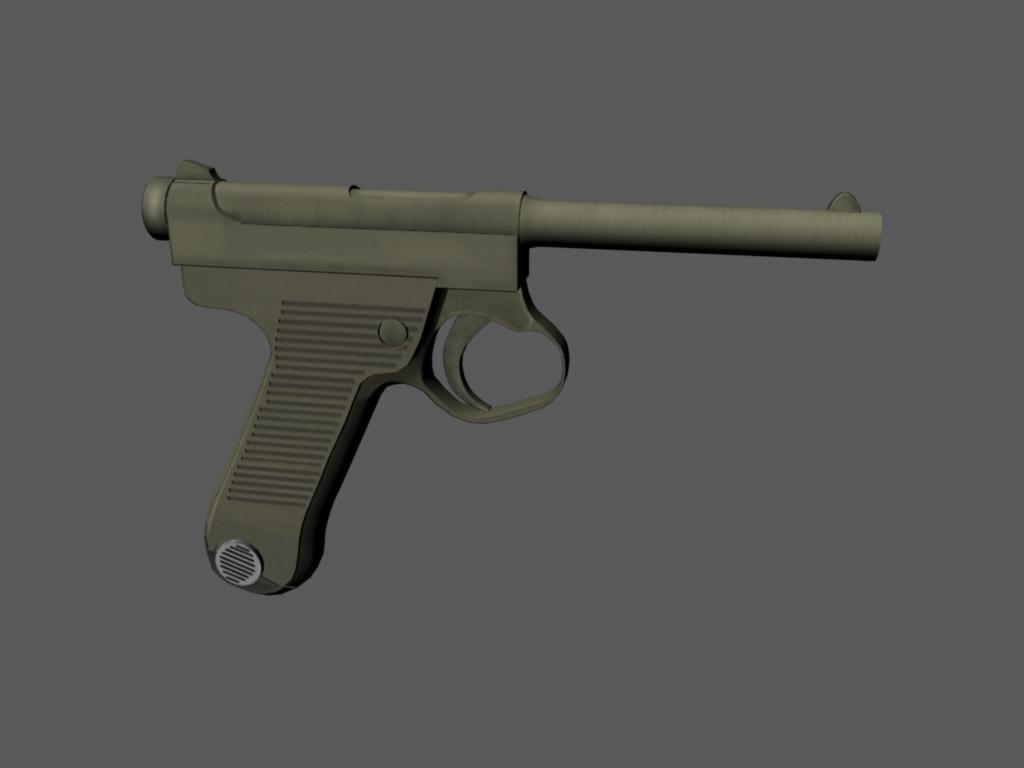 maya luger handgun