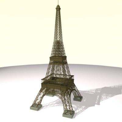 blender eiffel tower