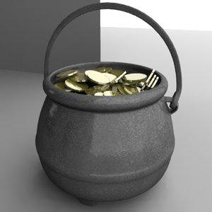 3d pot money model