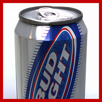 Bud Light Beer Can - 33cl